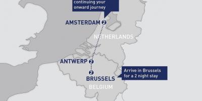 Bruxelles Kort Kort Bruxelles Belgien